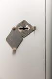 Old key hole Stock Images