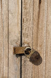 Old Key Vintage Lock Door Wood Royalty Free Stock Photo