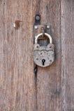 Old Key Vintage Lock Wood Door Royalty Free Stock Image