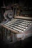 Old keyboard Stock Photo