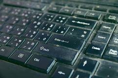 Old keyboard Royalty Free Stock Photography