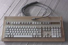 Old keyboard Stock Image
