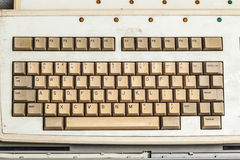 Old Keyboard Royalty Free Stock Images