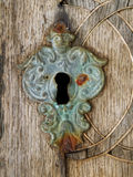 Old keyhole Royalty Free Stock Photo