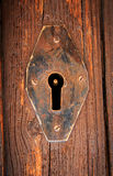 Old keyhole Royalty Free Stock Images