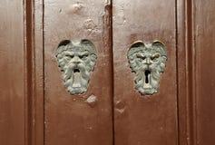 Old keyholes Stock Image