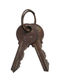 Old Keys Stock Photography