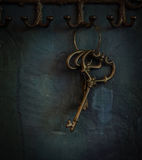 Old keys Stock Images