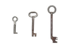 Old keys Royalty Free Stock Image