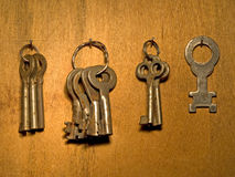 Old keys. Royalty Free Stock Photography