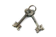 The old keys Stock Photography
