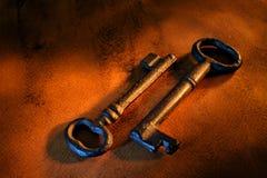 Old keys Stock Image