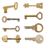 Old keys collection. Stock Photography