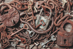 The old keys Royalty Free Stock Photo