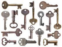 Old keys Royalty Free Stock Photos