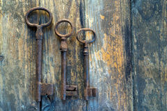 Old keys Stock Photos