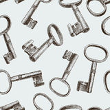 Old keys Royalty Free Stock Photography