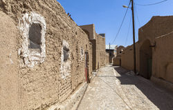 Old Kharanagh Village in Yazd, Iran Royalty Free Stock Image