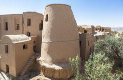 Old Kharanagh Village in Yazd, Iran Royalty Free Stock Photo