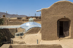 Old Kharanagh Village in Yazd, Iran Royalty Free Stock Image