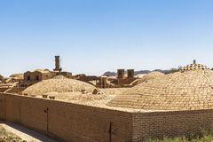 Old Kharanagh Village in Yazd, Iran Royalty Free Stock Photography