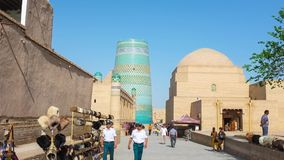 The old Khiva stock footage