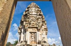 Old Khmer art sanctuary Stock Photos