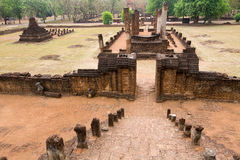 Old khmer ruins Royalty Free Stock Photo