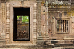 Old khmer temple Royalty Free Stock Photo