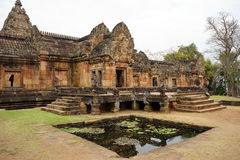 Old khmer temple Royalty Free Stock Image