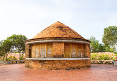Old kilns for making ceramic tiles & bricks Royalty Free Stock Images