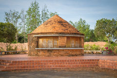 Old kilns for making ceramic tiles & bricks Stock Images