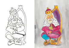 The old king Stock Images