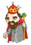 Old King royalty free illustration