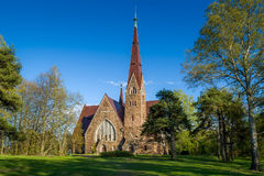 Old kirk Stock Photography