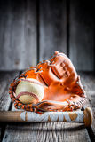 Old Kit to play baseball Royalty Free Stock Photography
