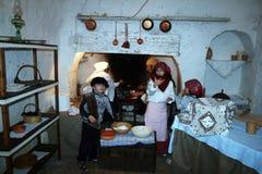 Old kitchen Royalty Free Stock Photos