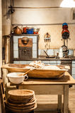 Old Kitchen at a Farm in Austria Royalty Free Stock Photos