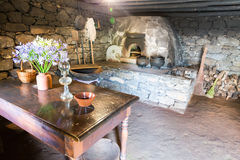 Old kitchen interior Stock Image