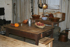 An old kitchen in a plantation home Stock Photos
