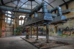 Old kitchen in the sanatorium in Beelitz Royalty Free Stock Photography