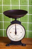Old Kitchen Scales Royalty Free Stock Photo