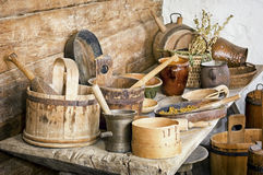 Old kitchen Royalty Free Stock Images