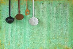 Old kitchen utensils, Stock Photos