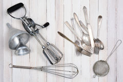 Old Kitchen Utensils Royalty Free Stock Photo