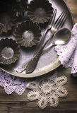 The old kitchen utensils Stock Image
