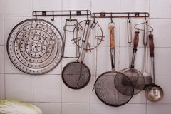 Old kitchenware Royalty Free Stock Photos