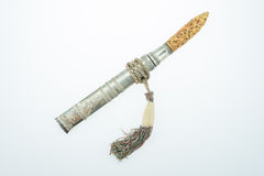 Old knife ivory handle Royalty Free Stock Photography