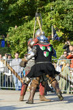 Old knights event. Royalty Free Stock Photography