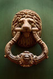 Old knocker on a door Royalty Free Stock Photo